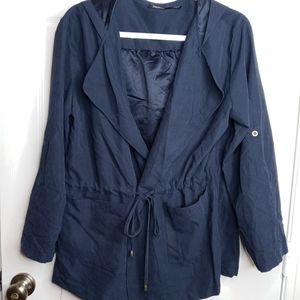 Poetry Jacket - Navy Blue Large